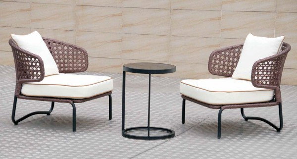 1 SEATER OUTDOOR CHAIR - FRM8027A6