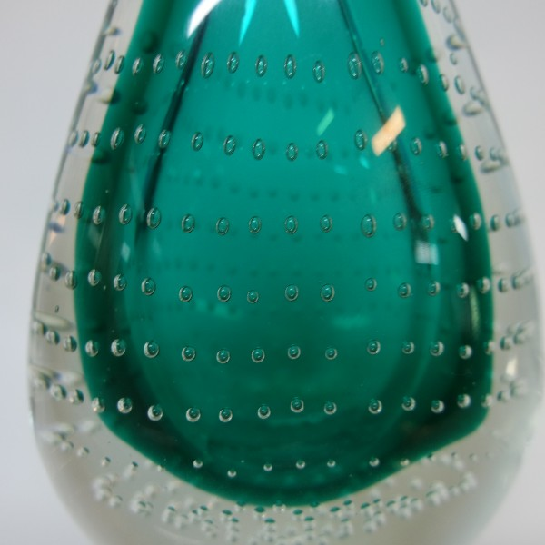 Green And Blue water droplets Glass - SPS8078C3