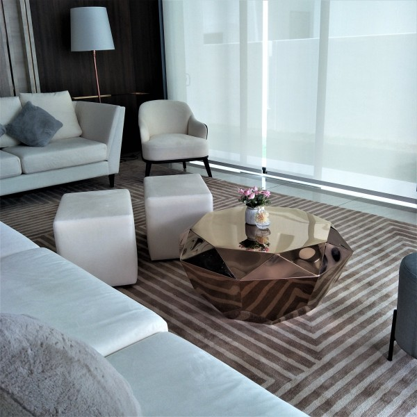 ROSE GOLD  COFFEE TABLE - FRM3080-RG2
