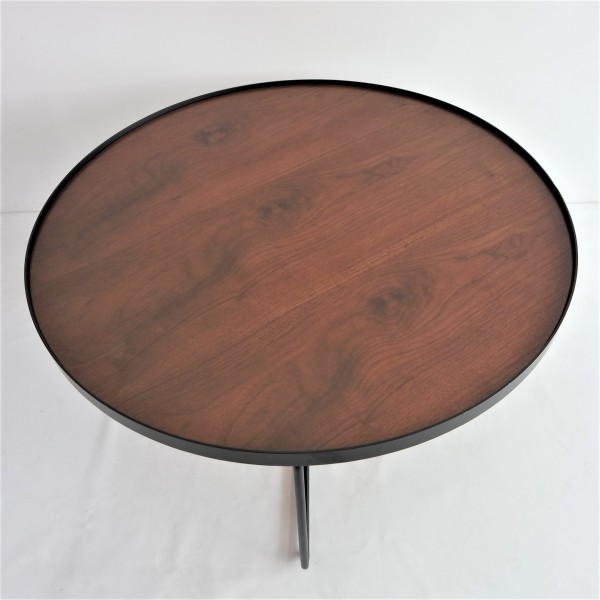 WALNUT TOP COFFEE TABLE - FRM3079-WN2