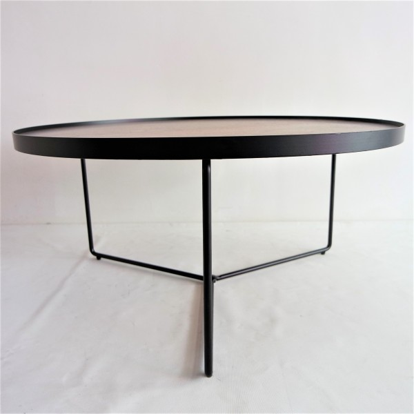 WALNUT TOP COFFEE TABLE - FRM3079-WN3