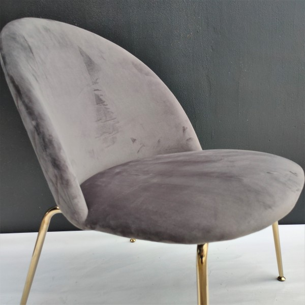 HIGH BACK LOUNGE CHAIR - FRM02344
