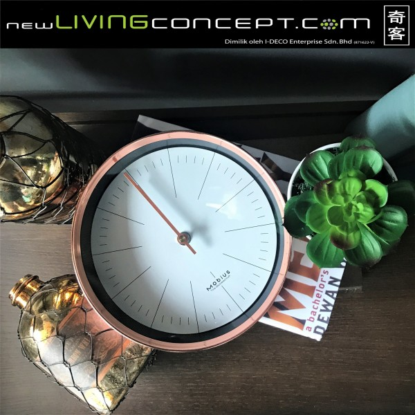 MOBIUS ROUND WALL CLOCK  - DCC10971