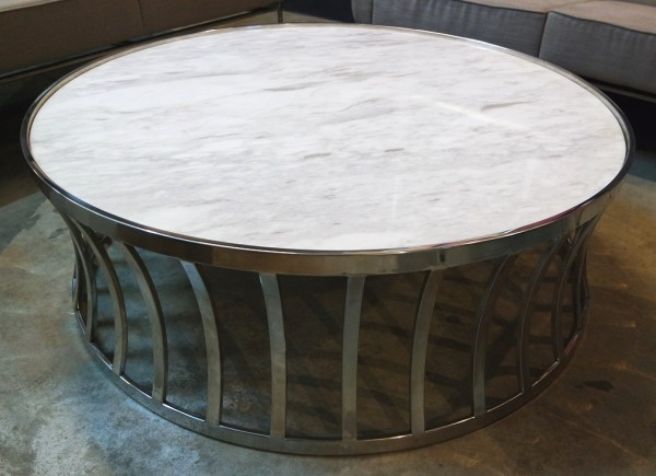 MARBLE ROUND COFFEE TABLE - FRM20781