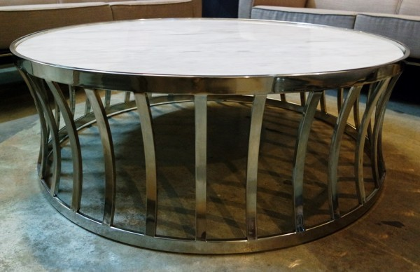 MARBLE ROUND COFFEE TABLE - FRM20782