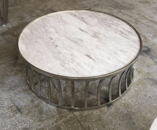 MARBLE ROUND COFFEE TABLE - FRM20783