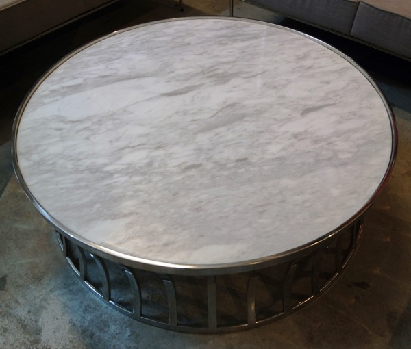 MARBLE ROUND COFFEE TABLE - FRM20784