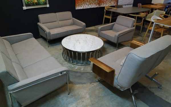 MARBLE ROUND COFFEE TABLE - FRM20786