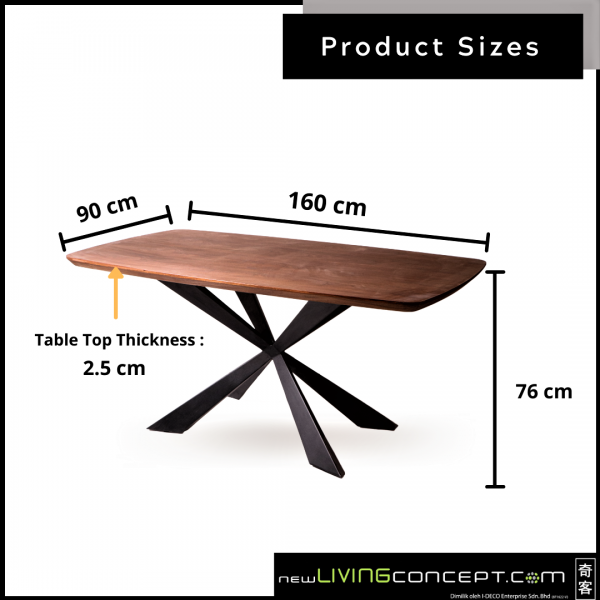 WN DINING TABLE - FRM51936