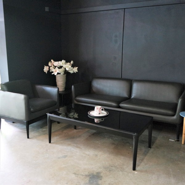 RECTANGLE GLASS COFFEE TABLE - FRM20815