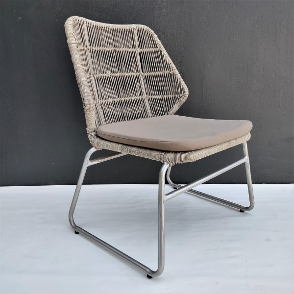 OUTDOOR CHAIR WITH CUSHION - FRM80371