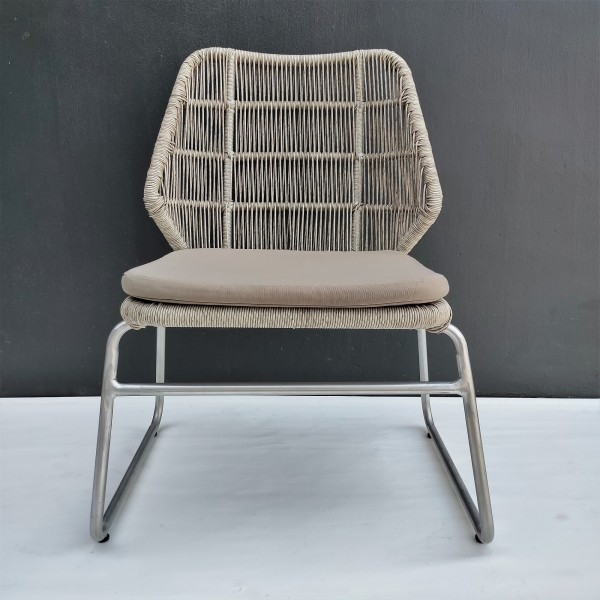 OUTDOOR CHAIR WITH CUSHION - FRM80372