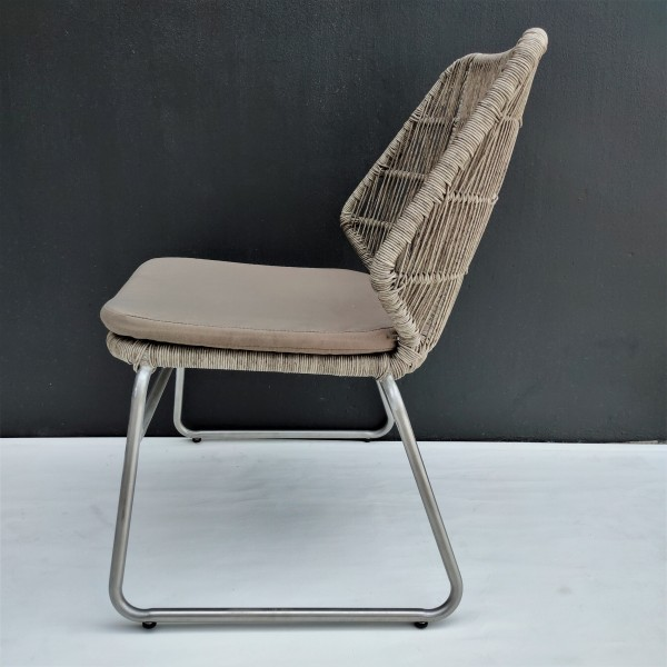 OUTDOOR CHAIR WITH CUSHION - FRM80373
