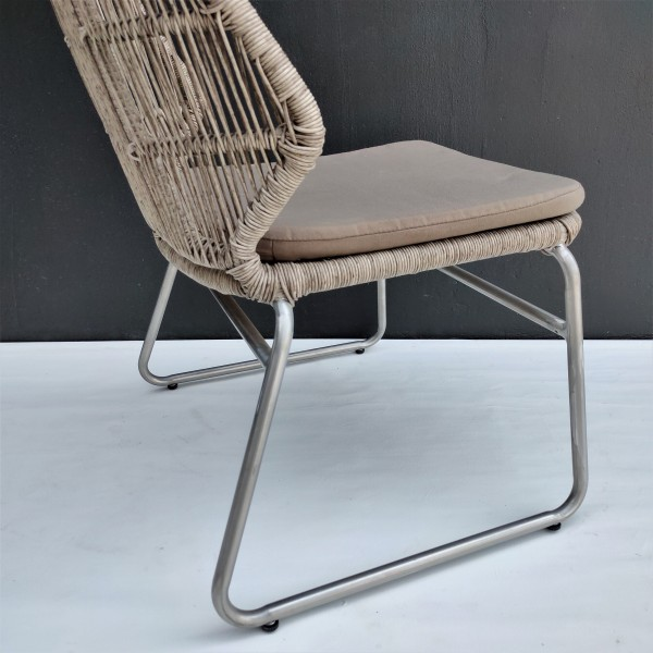 OUTDOOR CHAIR WITH CUSHION - FRM80374