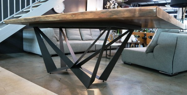 MERBAU SLAB DINING TABLE - FRM51224