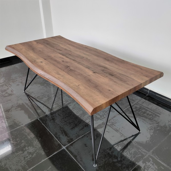 1.8M WALNUT DINING TABLE - FRM51791