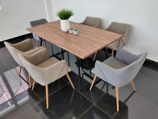 WALNUT DINING TABLE - FRM51803