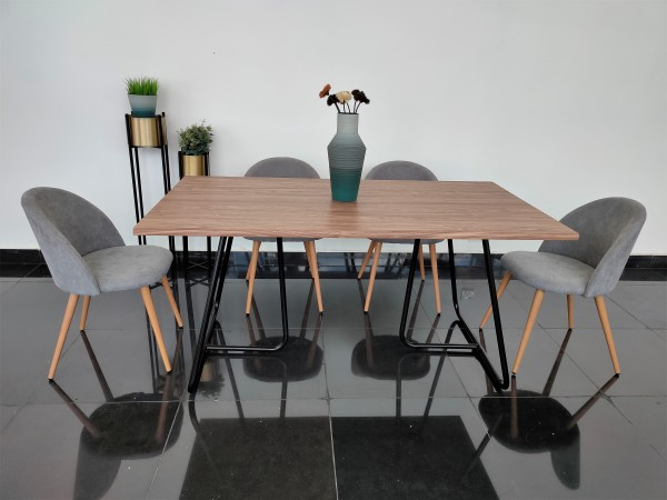 WALNUT DINING TABLE - FRM51806