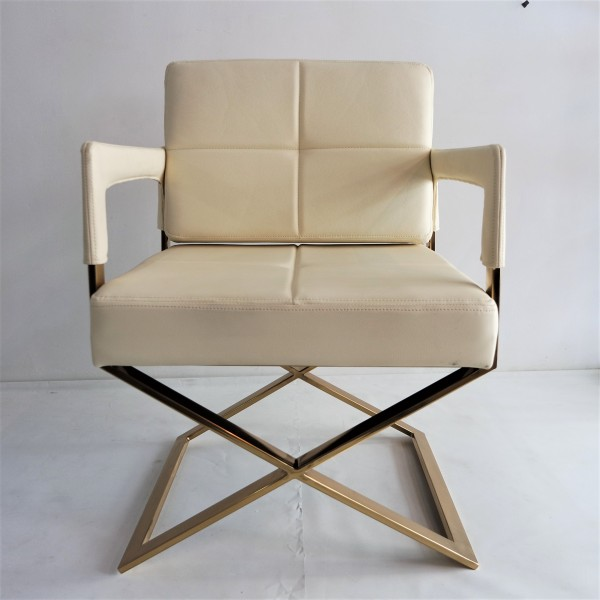 GOLD FRAME RELAXING CHAIR - FRM0220-PC1
