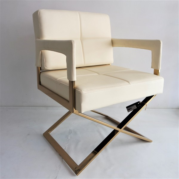 GOLD FRAME RELAXING CHAIR - FRM0220-PC2