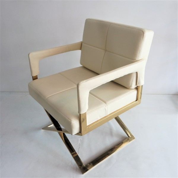 GOLD FRAME RELAXING CHAIR - FRM0220-PC3