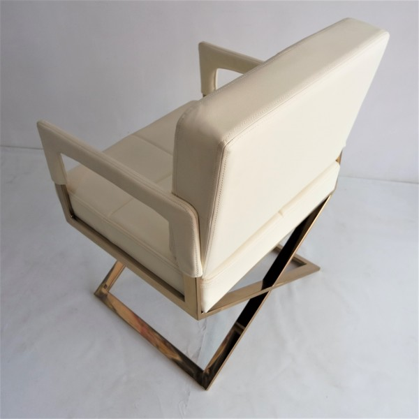 GOLD FRAME RELAXING CHAIR - FRM0220-PC4