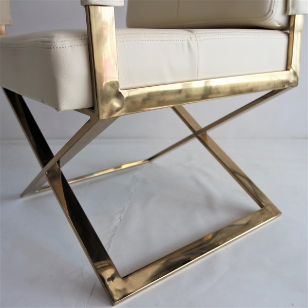 GOLD FRAME RELAXING CHAIR - FRM0220-PC6