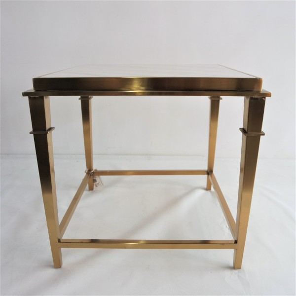 SQUARE MARBLE SIDE TABLE - FRM2099-GD5