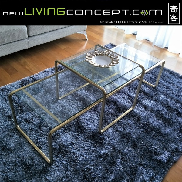 GLASS COFFEE TABLE - FRM20111
