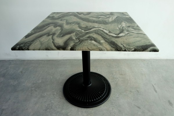 SQUARE MARBLE DINING TABLE - FRM5129B1