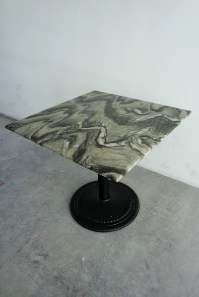 SQUARE MARBLE DINING TABLE - FRM5129B2
