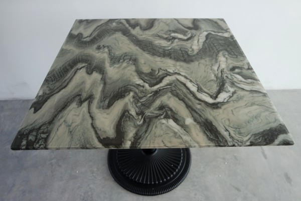SQUARE MARBLE DINING TABLE - FRM5129B3
