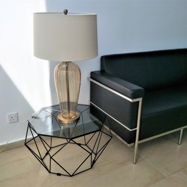 BLACK IRON COFFEE TABLE - FRM3063A-B5