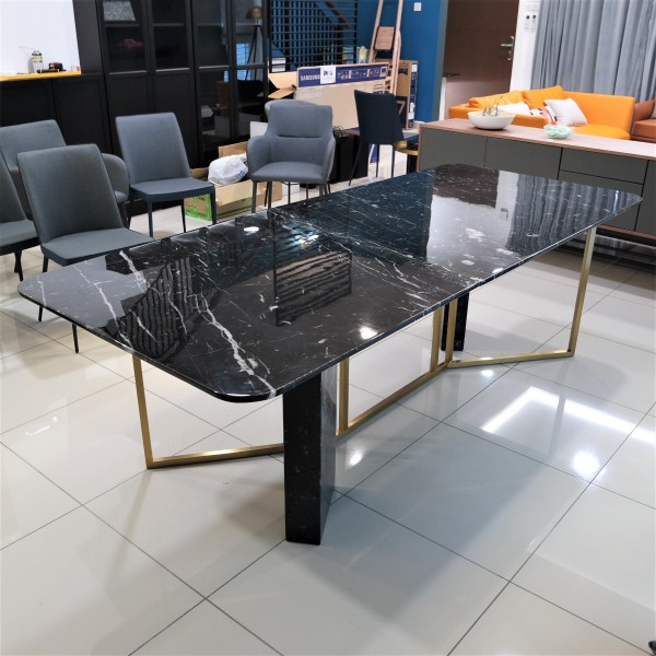 ROOD MARBLE DINING TABLE - FRM51566