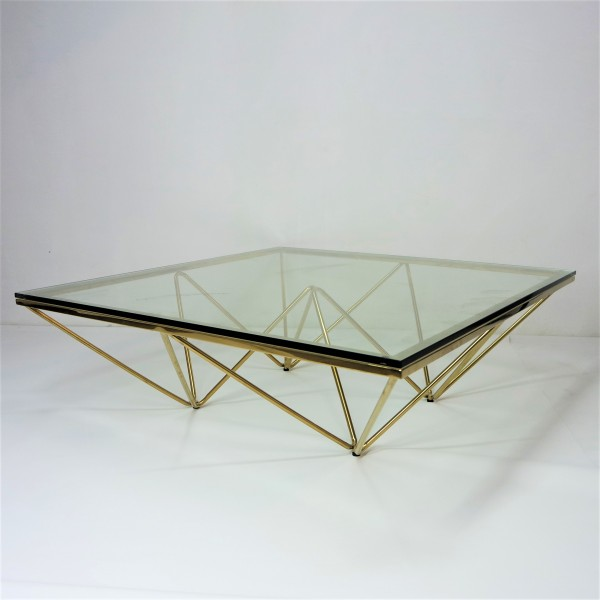 GOLD COFFEE TABLE - FRM3068-GD2