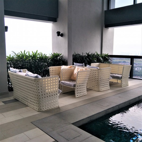 3 SEATER OUTDOOR SOFA - FRM80335
