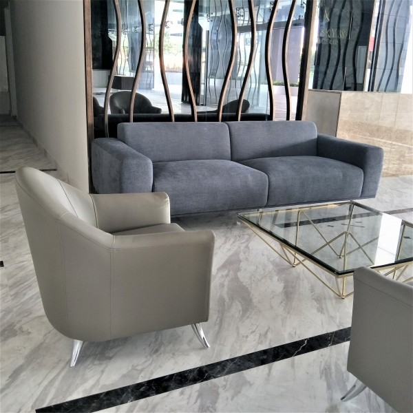 GOLD COFFEE TABLE - FRM3068-GD6