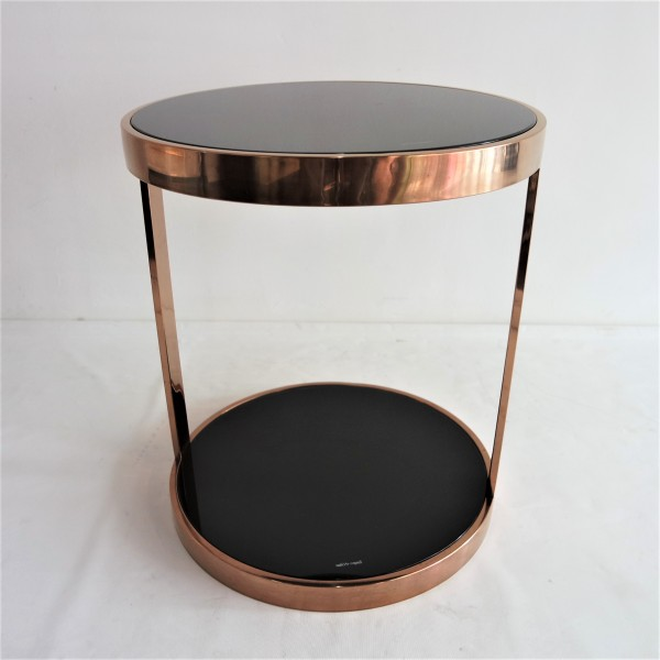 ROSE GOLD SIDE TABLE-FRM20913