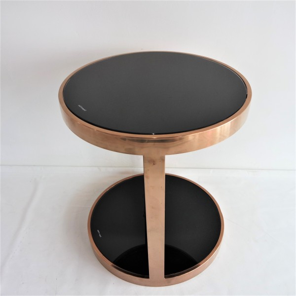 ROSE GOLD SIDE TABLE-FRM20914