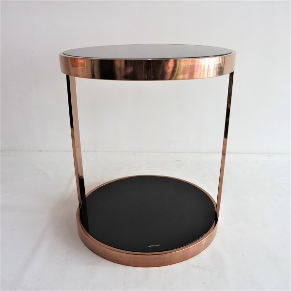 ROSE GOLD SIDE TABLE-FRM20911