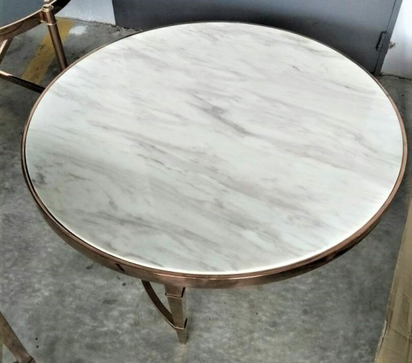 ROUND MARBLE COFFEE TABLE - FRM30702