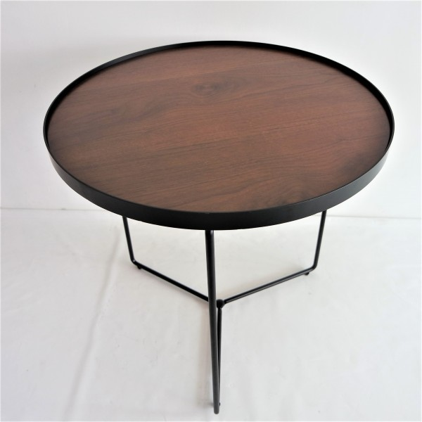 WALNUT SIDE TABLE - FRM2098-WN2
