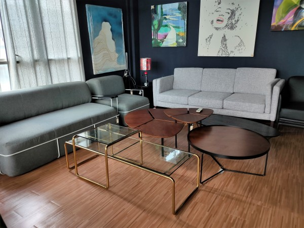 GLASS COFFEE TABLE - FRM20113