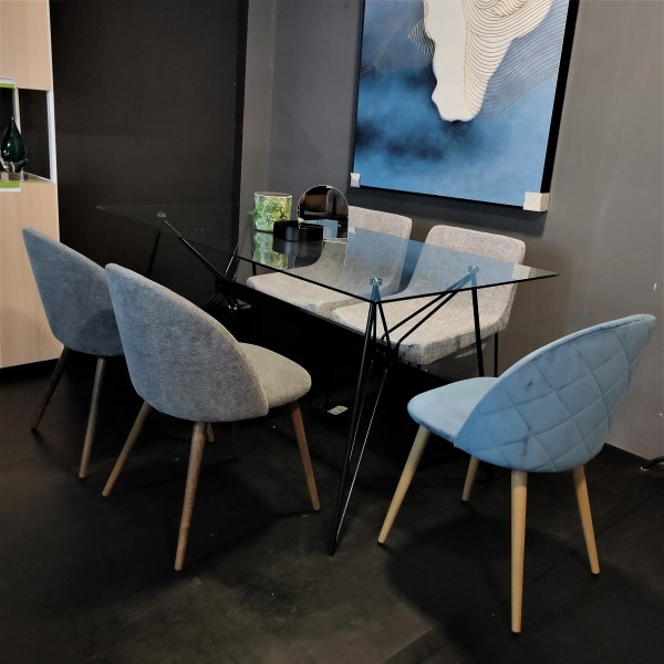 FRM5184 GLASS DINING TABLE3