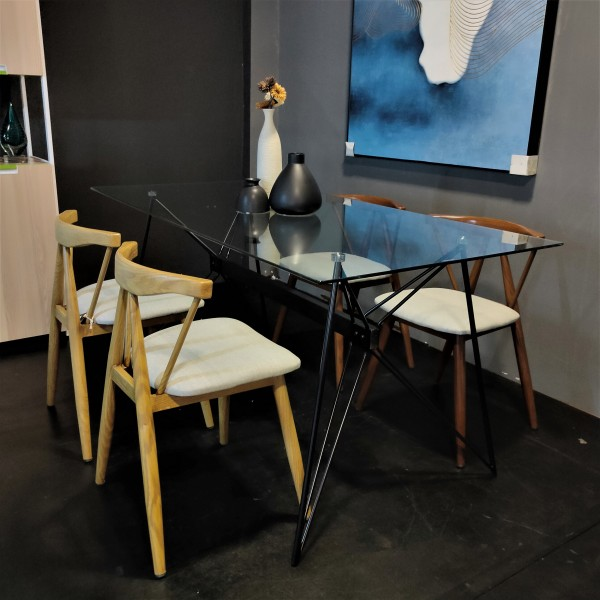 FRM5184 GLASS DINING TABLE4
