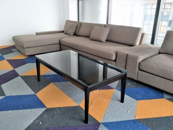 RECTANGLE GLASS COFFEE TABLE - FRM20816