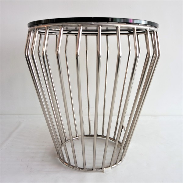 GLASS SIDE TABLE - FRM30573